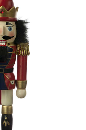nutcracker in white background Stock Photo