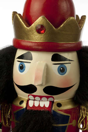 nutcracker in white background Stock Photo - 16019454