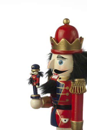 nutcracker in white background Stock Photo - 16019449