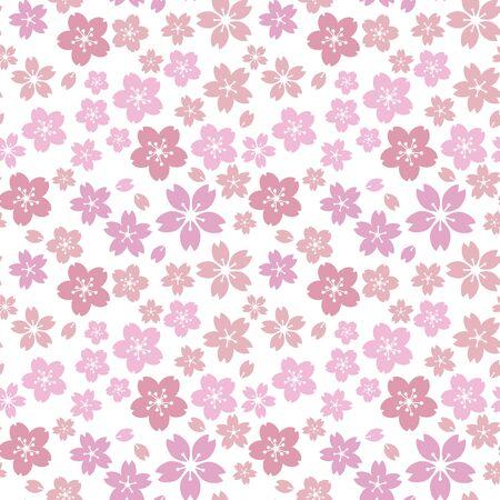 Moss phlox flower pattern.?pink, Light purple?soft, sweet, romantic image Stock Illustratie