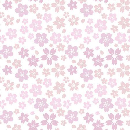 Moss phlox flower pattern.(pink, Light purple)soft, sweet, romantic image