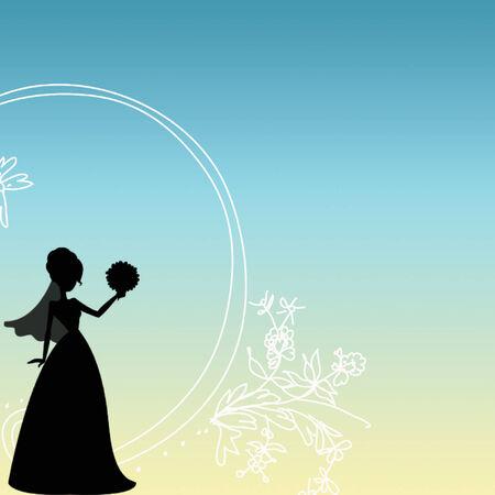 bride background