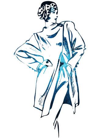 woman Ilustrace