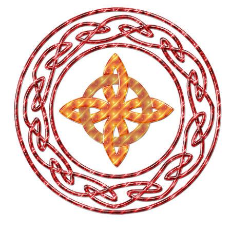 Uno colorato e piuttosto celtica design Archivio Fotografico - 5274995