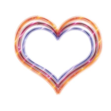 heart very: a very pretty and bright heart design