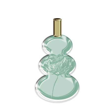 a pretty glass bottle perfect for perfume Stok Fotoğraf - 8387828