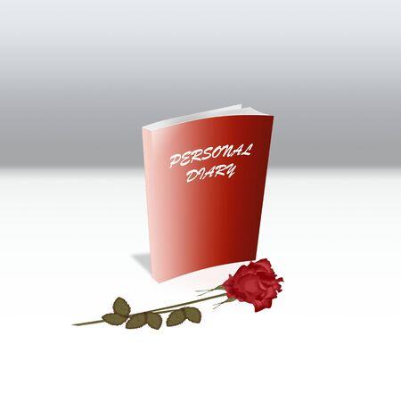 個人的な日記とプリティ ローズ