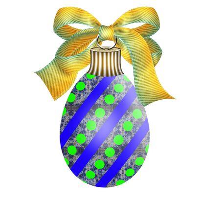 eggshells: un ornamento de huevo de Pascua bonita Vectores