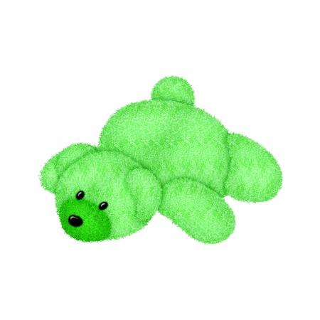 a soft and fuzzy teddy bear Banco de Imagens - 9657948