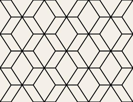 Modèle sans couture de vecteur. Texture élégante moderne. Répétition de fond géométrique avec losange