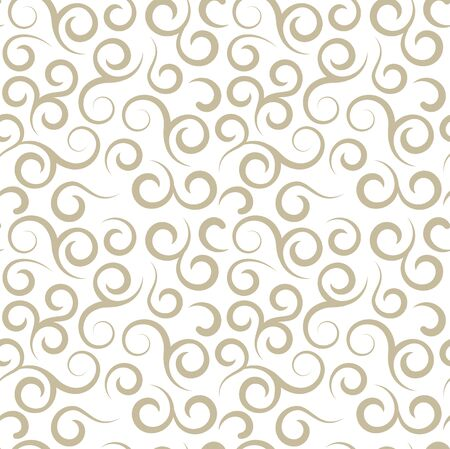 Floral seamless vector pattern in damask style. Soft design. Endless texture for wrapping, textiles, paper. 向量圖像