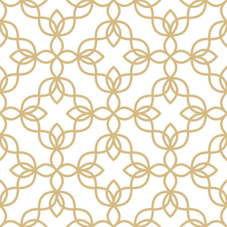 Floral seamless geometric pattern can be used for wallpaper, website background, textile printing. Endless vector background. Flower theme.
