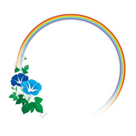 Morning glory rainbow