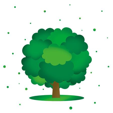 growth hot: Summer tree