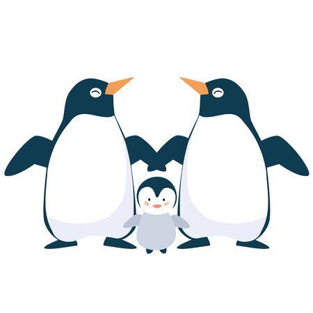 ペンギンの親 写真素材