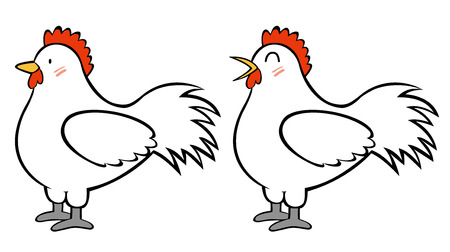 cartoon chicken: Chicken