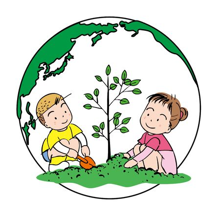 grade school age: Gardening for the earth