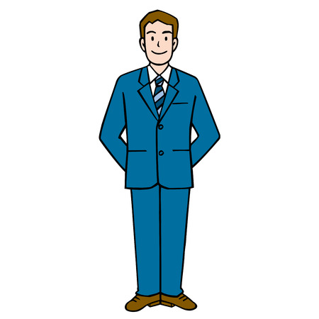 usher: Businessman Stock Photo