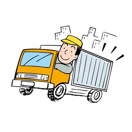 truck driver: Truck driver