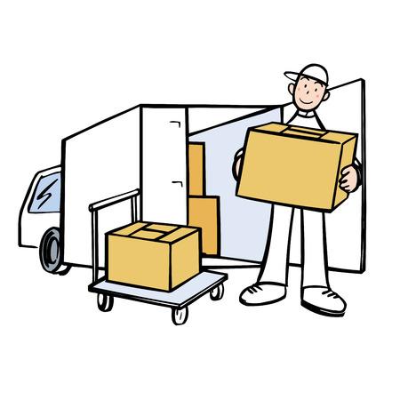 forwarder: Carry cardboard