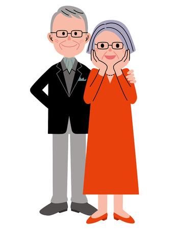 matrimonio feliz: par mayor sorpresa