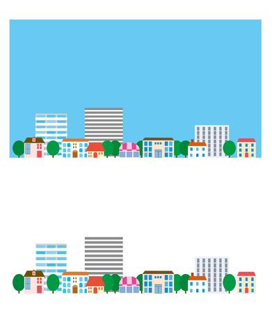 residential neighborhood: Street town