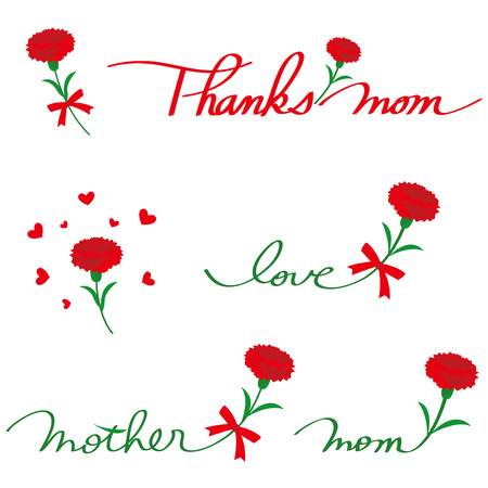 Carnation and letter