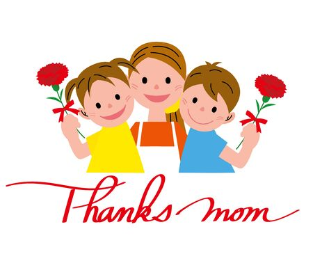 asian family: Mothers Day Stock Photo