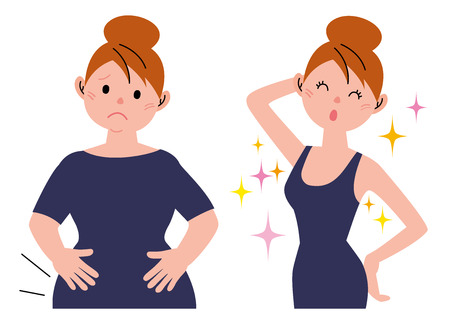 exercise weight: Before after weight