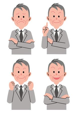 Senior man variation