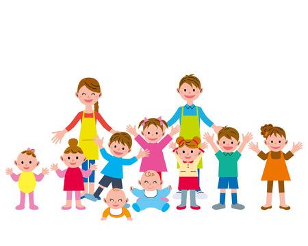 Children and staff