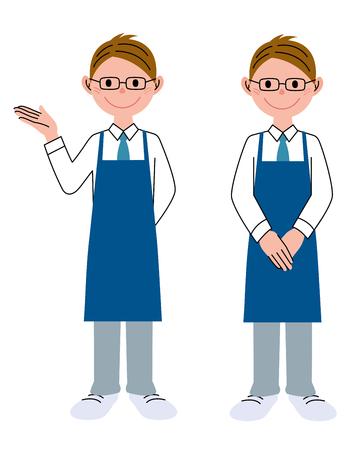 helper: Man of glasses