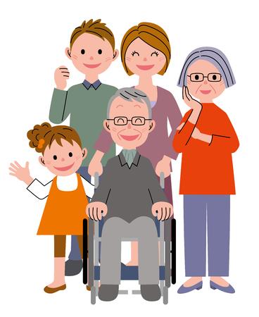 Famille  Banque d'images - 45875767