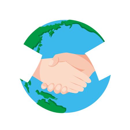 Handshake earth