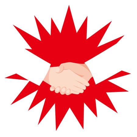 Handshake Hinomaru