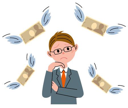 事業者のお金 写真素材