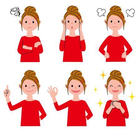 variation: Woman Variation Expression