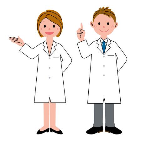 Two health care workers Zdjęcie Seryjne