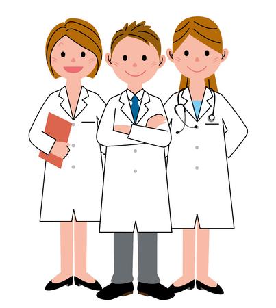 3 医療従事者 写真素材