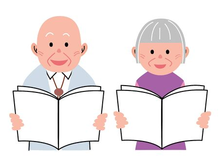 old couple: Old Couple Pamphlet
