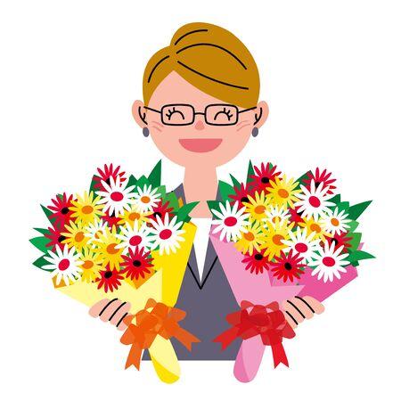 bunch: Bunch of flowers