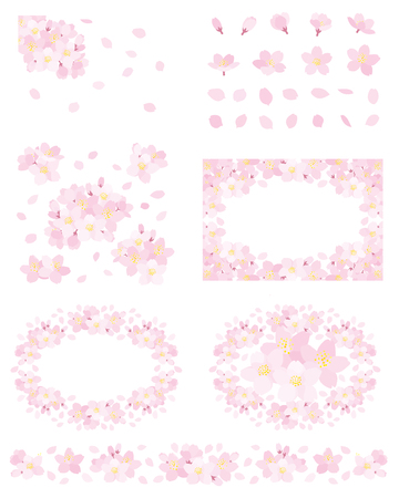 Cherry blossoms set