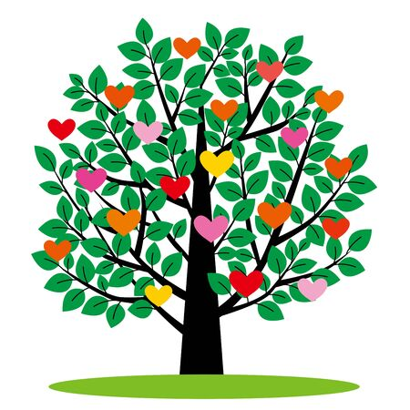 heart shaped leaves: The tree which heart grows on