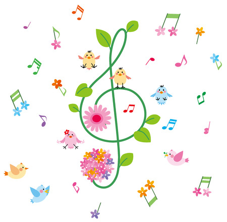 Music and little birds