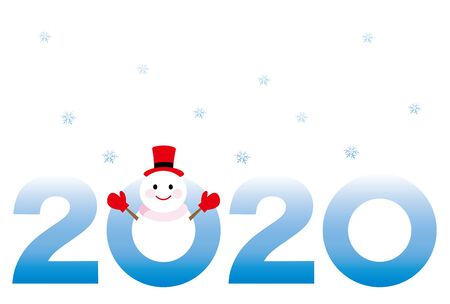 2020 new year card
