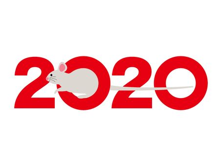 A symbol in a mouse year in 2020