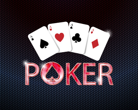 poker icon with poker card