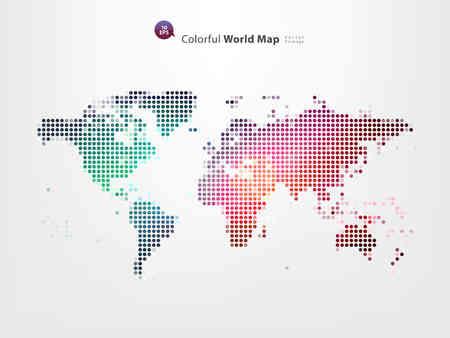 pix: Dotted World Map