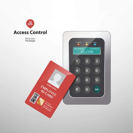 access granted: Access control - Proximity card reader