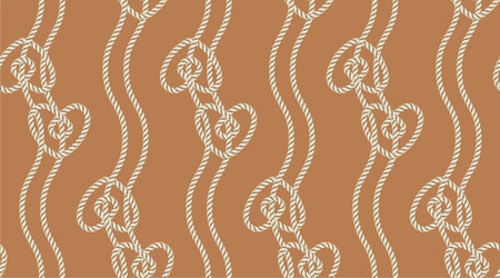 Seamless pattern of ropes.  great for wallpaper, textile pattern or background images.